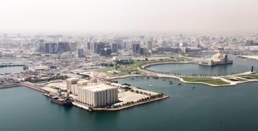 Project site. Image © Qatar Museums and Malcolm Reading Consultants