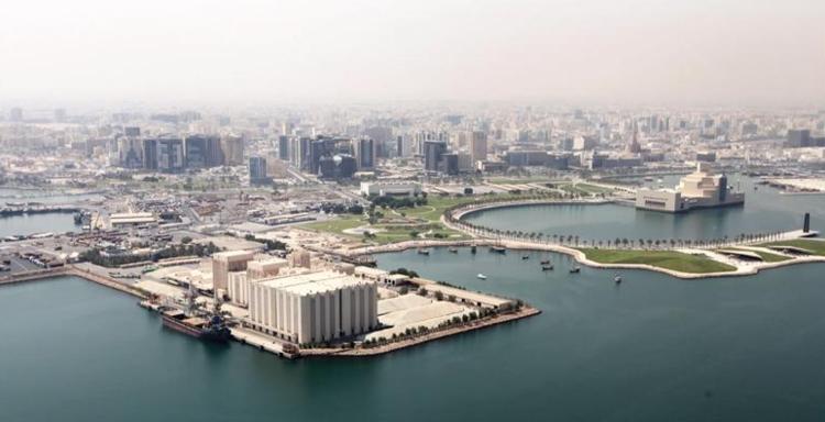 Catar busca arquitectos para transformar complejo molinero en nuevo museo, Emplazamiento del lugar. Imagen © Qatar Museums and Malcolm Reading Consultants
