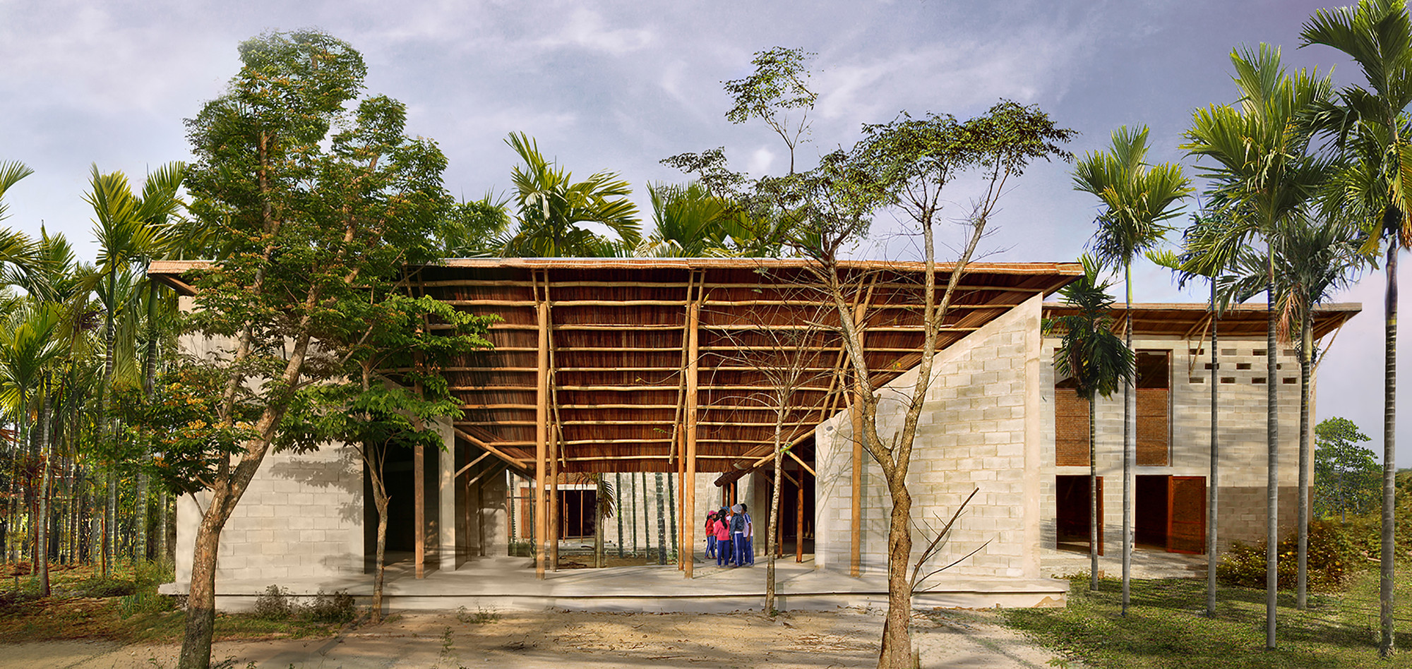 Cam Thanh Community House / 1+1>2, © Hoang Thuc Hao