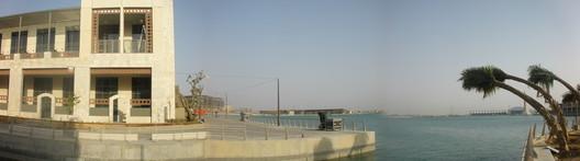 Ciudad universitaria mirando el mar