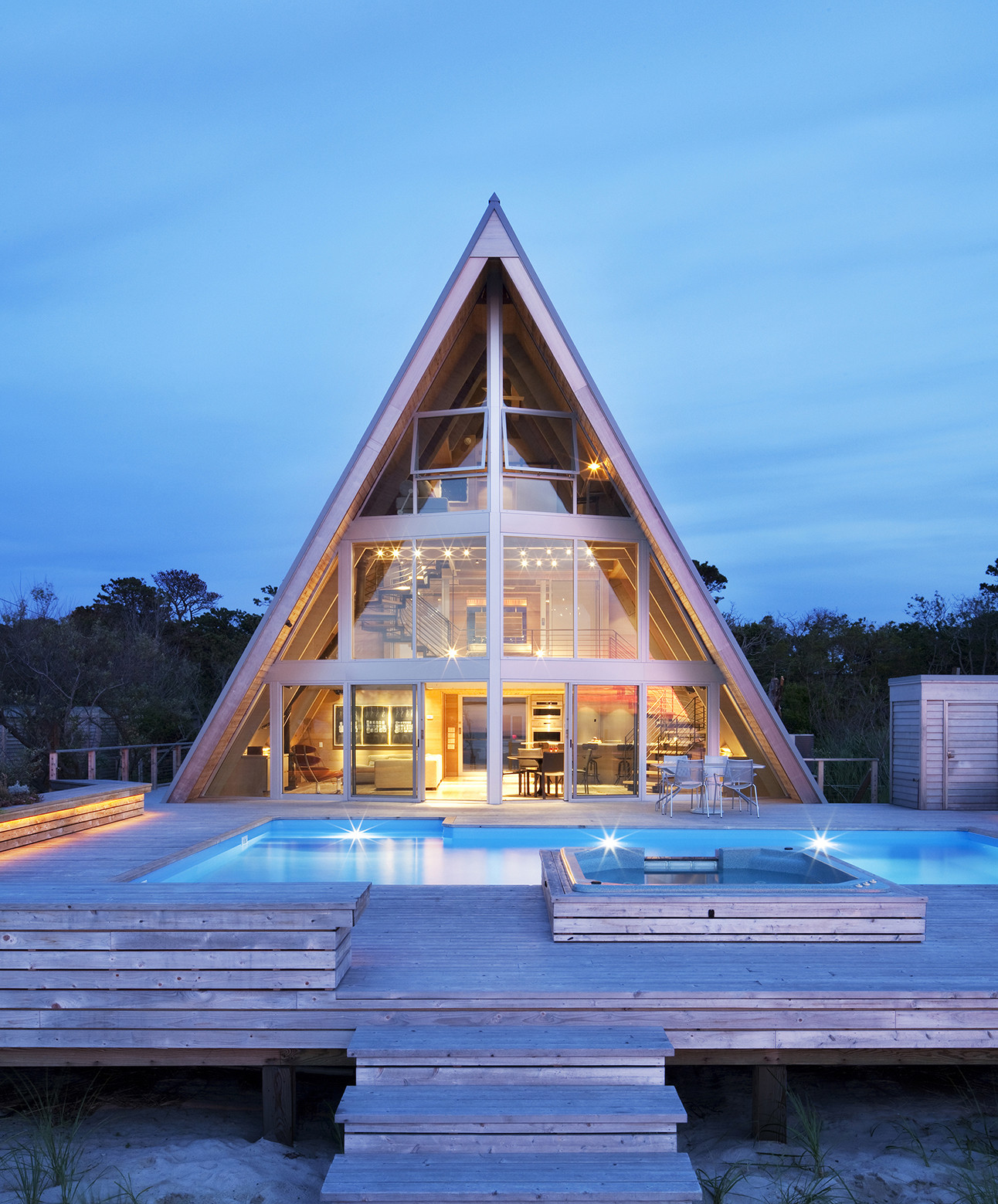 Gallery of A-Frame ReThink / Bromley Caldari Architects  - 1