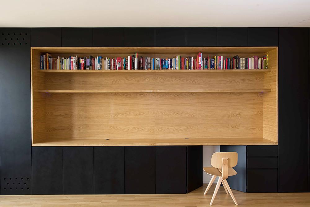 Departamento black line arhitektura d o o archdaily per for A line salon corte madera