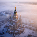 The Peter and Paul Cathedral in Peterhof, Russia. Image © Amos Chapple