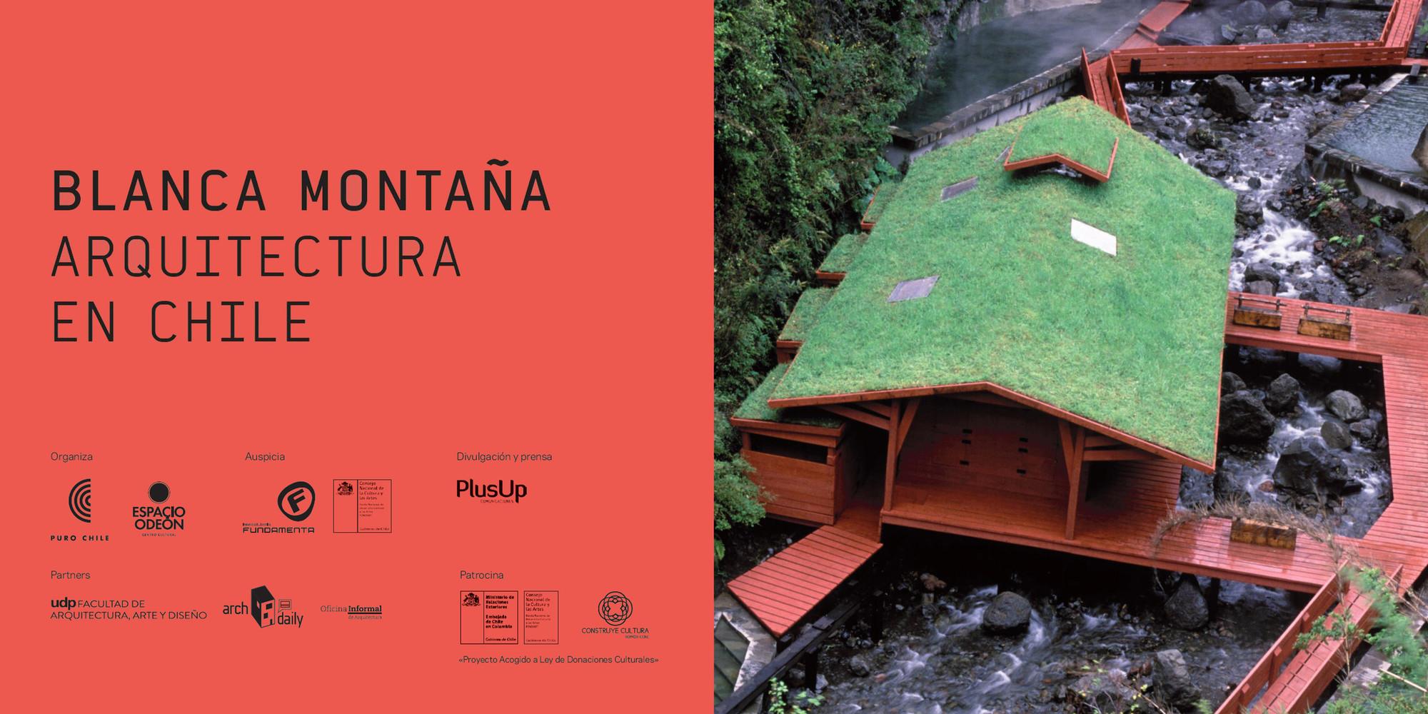 Presentación 'Blanca Montaña. Arquitectura en Chile' / Bogotá, Colombia