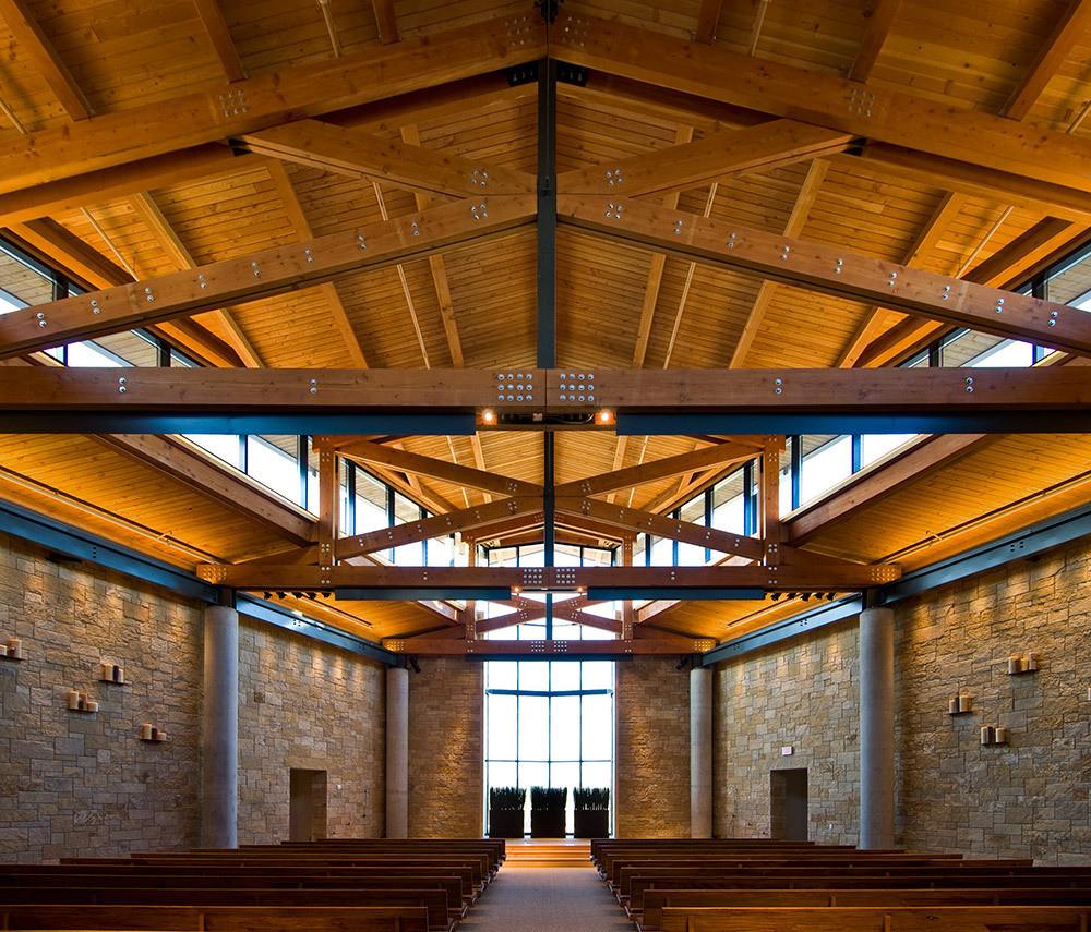 Open Call: 2015 Faith & Form/IFRAA International Awards Program, 2014 Faith & Form Award Winner: Watermark Community Church / OMNIPLAN Architects. Image © Peter Calvin