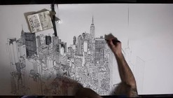 Video: Pat Vale's Drawing Time-Lapse Brings NYC to Life