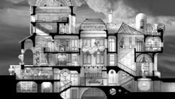 Arte e Arquitetura: desenhos arquitetônicos que evidenciam o espaço do Eixo Z
