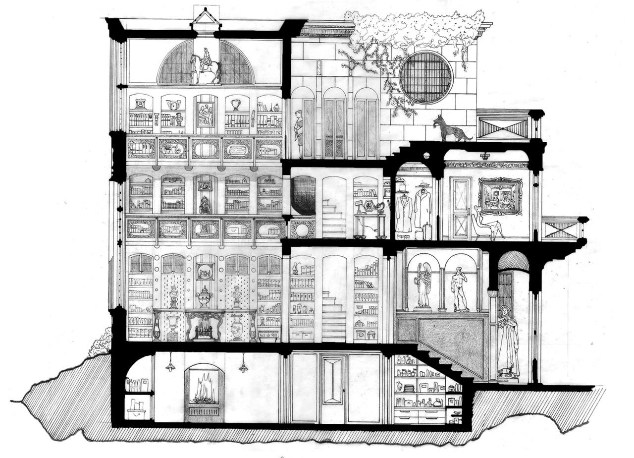 Arte Y Arquitectura Dibujos Arquitect Nicos Que