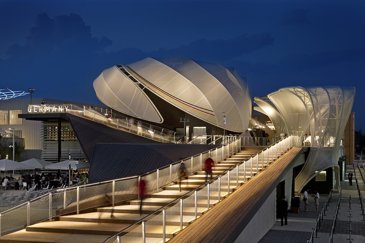 Best Stands Expo Milan : Germany pavilion u milan expo schmidhuber archdaily