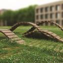 The University of Wisconsin Milwaukee's faBRICK Pavilion. Image © Courtesy of University of Wisconsin-Milwaukee School of Architecture