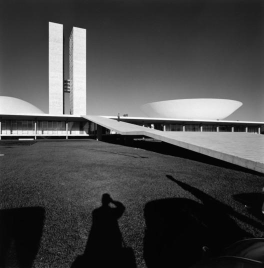 Brasilia em construção (clique para ver mais imagens). Imagem © Marcel Gautherot