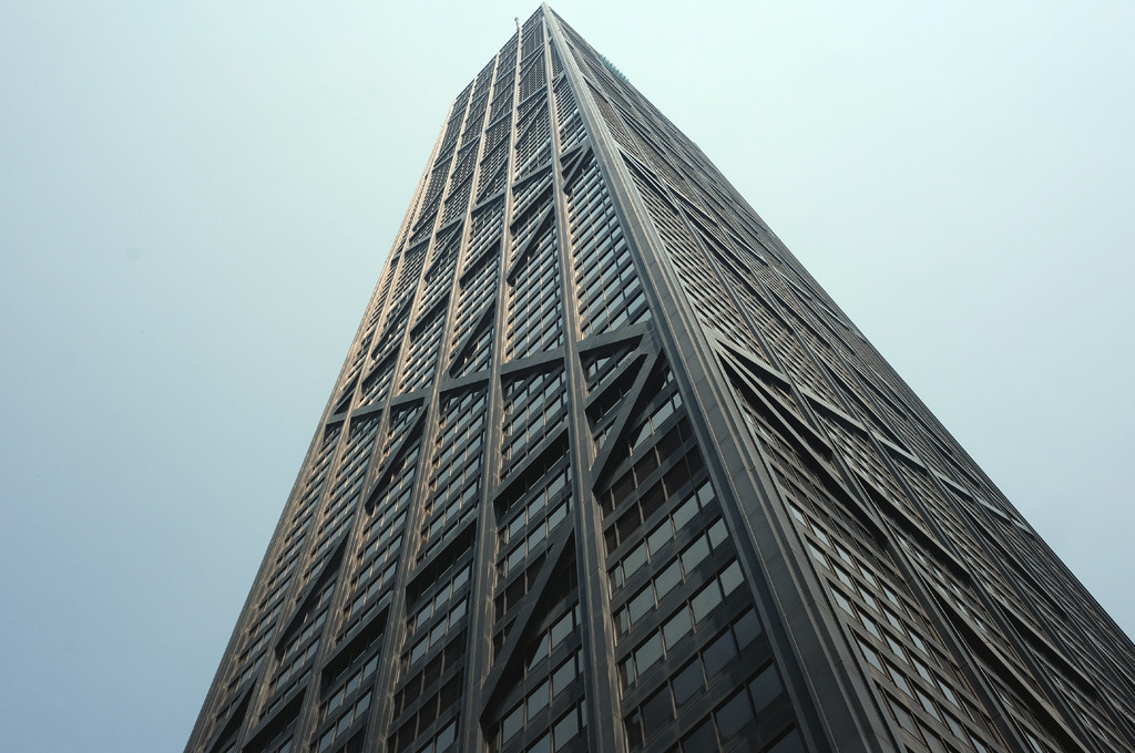 The Psychology of Skyscrapers: Is Bigger Always Better?, John Hancock Building. Image © Flickr User Kim Eriksson