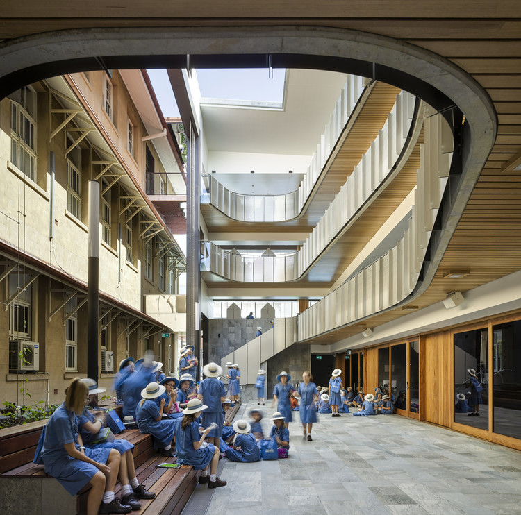 Mary Place, All Hallows' School / Wilson Architects, © Christopher Frederick Jones