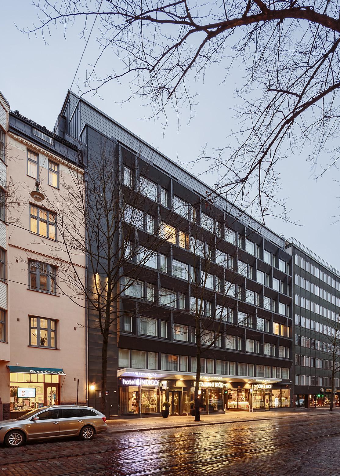 gallery of hotel indigo helsinki arkkitehdit soini horto 5. Black Bedroom Furniture Sets. Home Design Ideas