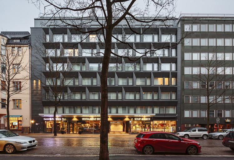Hotel Indigo Helsinki / Arkkitehdit Soini & Horto, © Tuomas Uusheimo