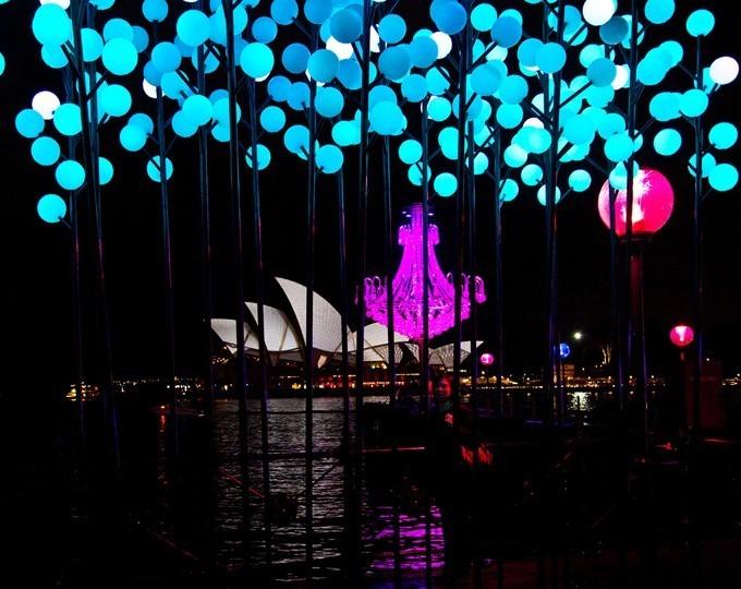 Festival de luz en Sydney: ciudad de creatividad e inspiración