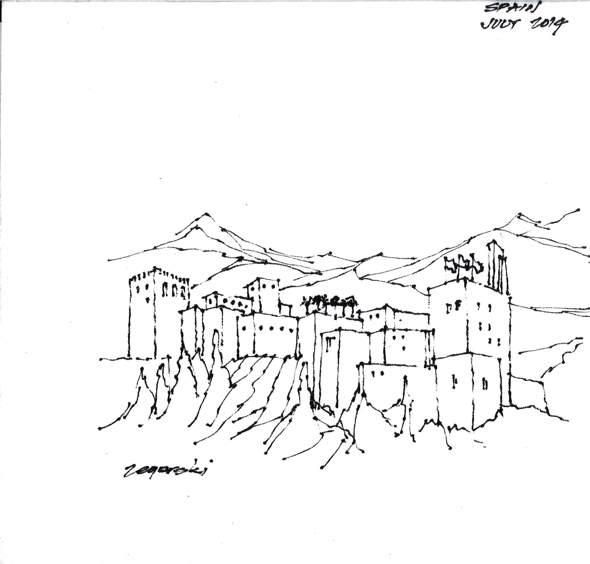 17 Napkin Sketches By Famous Architects