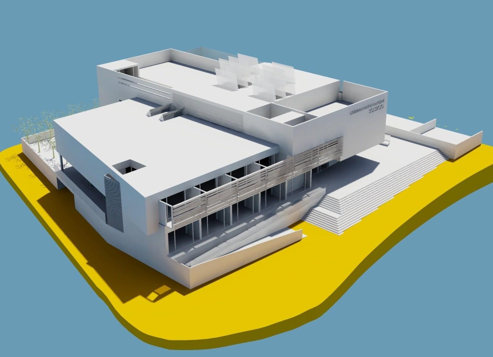 """Biblioteca Municipal """"Lope de Vega"""" de Tres Cantos / RUIPEREZ-CUEVAS Arquitectura y diseño"""