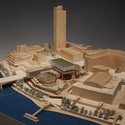 Model of Feilden Clegg Bradley's proposals for the Southbank Centre renovation, London. Image © Feilden Clegg Bradley Studios