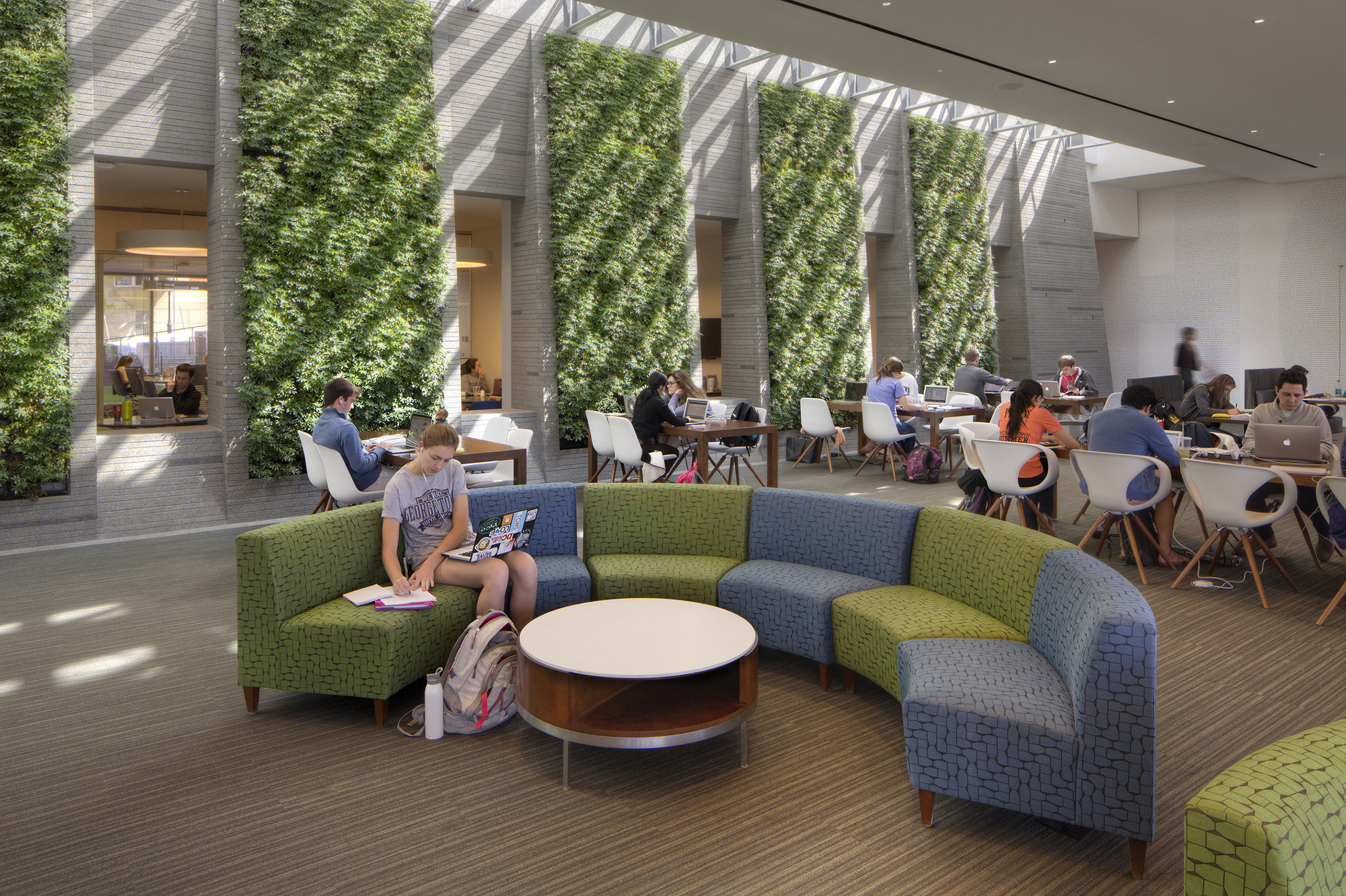 Gallery Of Student Center At Georgetown University Ikon