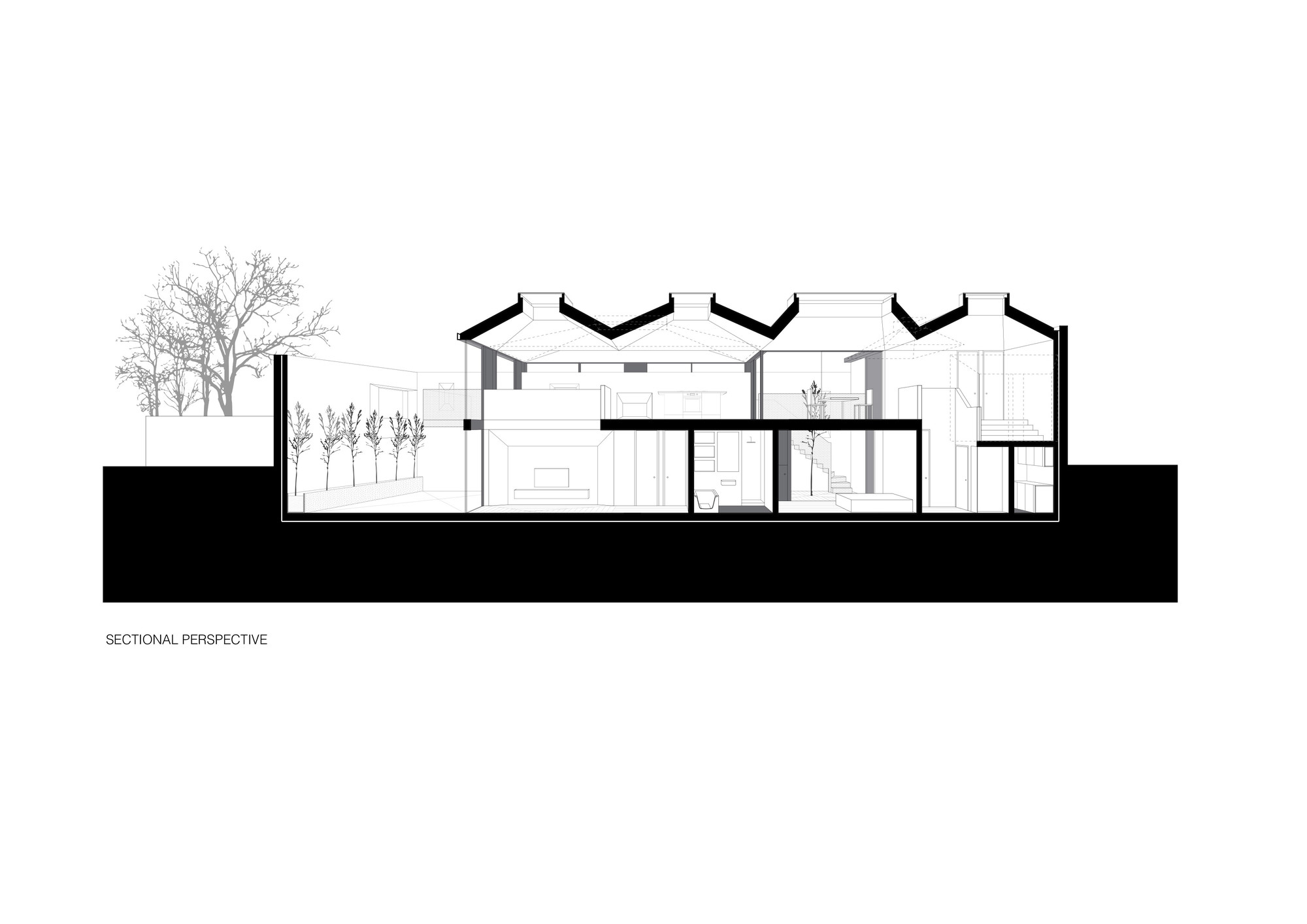 Peter Guthrie Renders 11 likewise Porte Jeune Mulhouse Topotek 1 further 55758133e58ece23c8000185 Vaulted House Vppr Section moreover 5321ea17c07a8042fc00007d Osulloc Tea House Pavilions Mass Studies Ground Floor Plan Innisfree Annex in addition Marsicehouseproject1. on house architecture