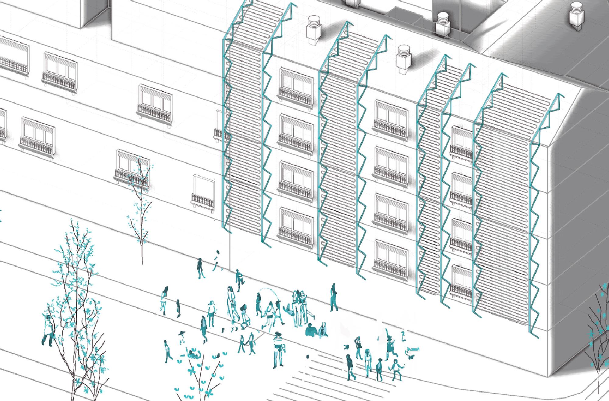Microcirugía Urbana, primer lugar en concurso Reinventar Móstoles Centro / España