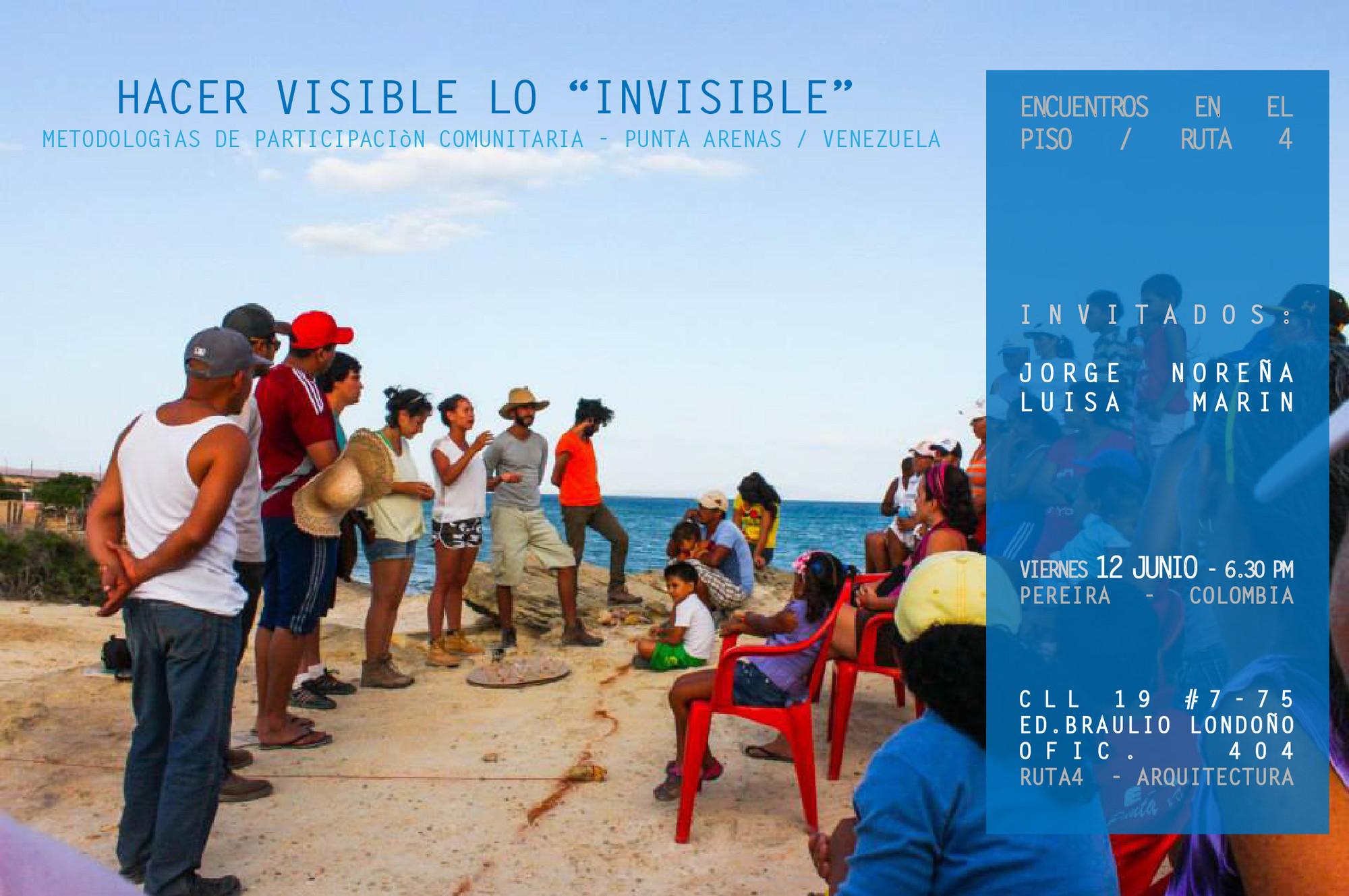 Conferencias 'Encuentros en el piso': Ruta 4 / Pereira, Colombia