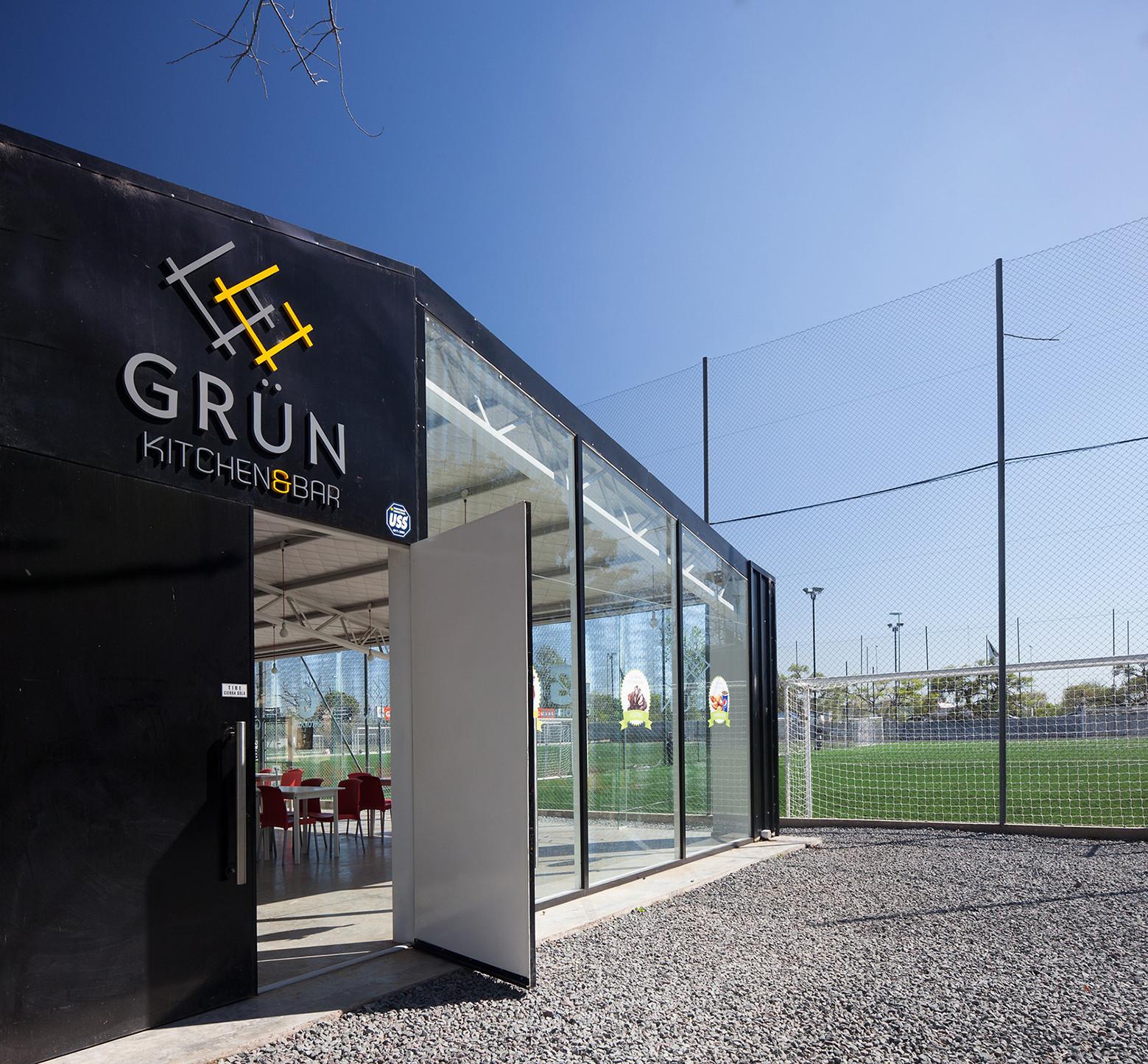 Sports Complex – Grün / A3 Luppi · Ugalde · Winter