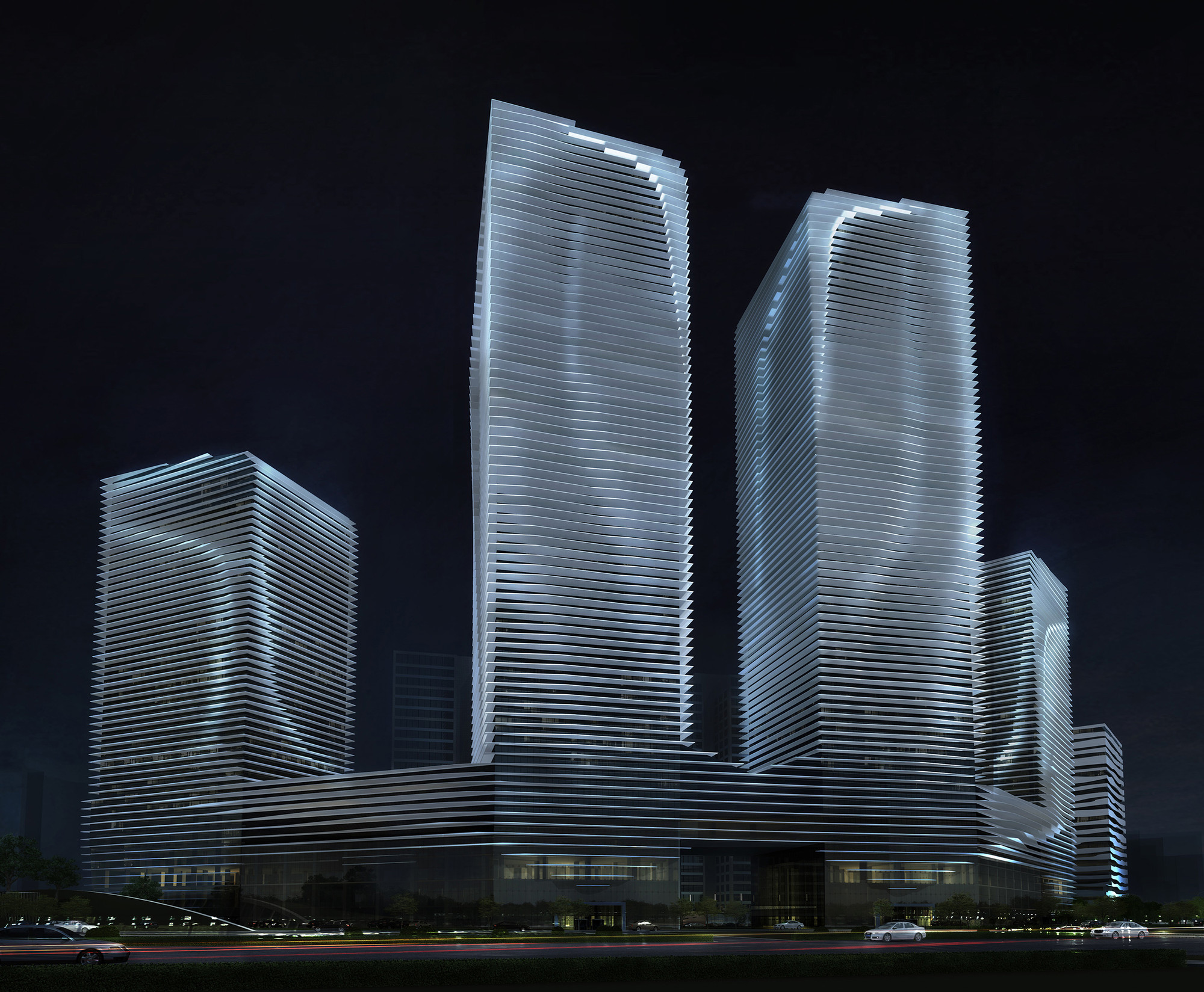 RTA-Office inicia construcción del Qingdao Innovation Park en China, Cortesia de RTA-Office