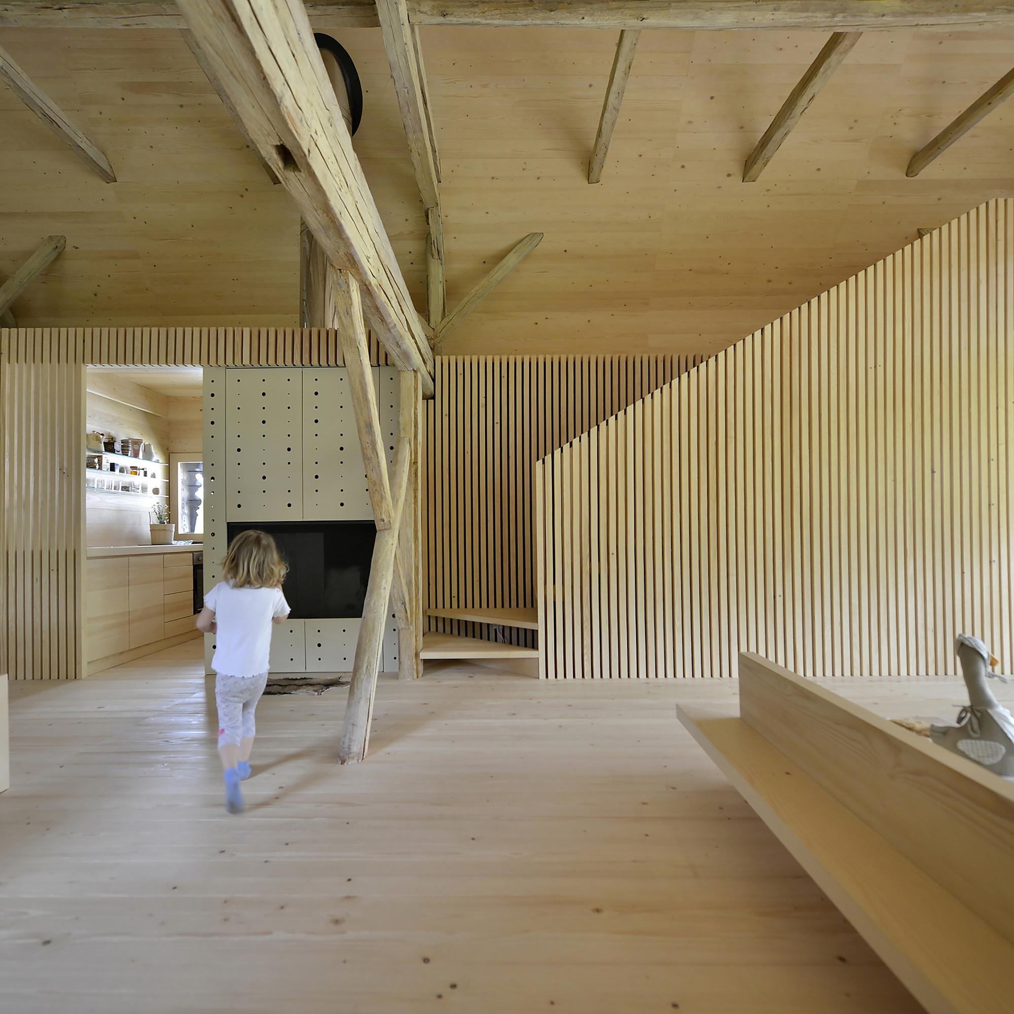 Gallery Of Alpine Barn Apartment / OFIS Architects