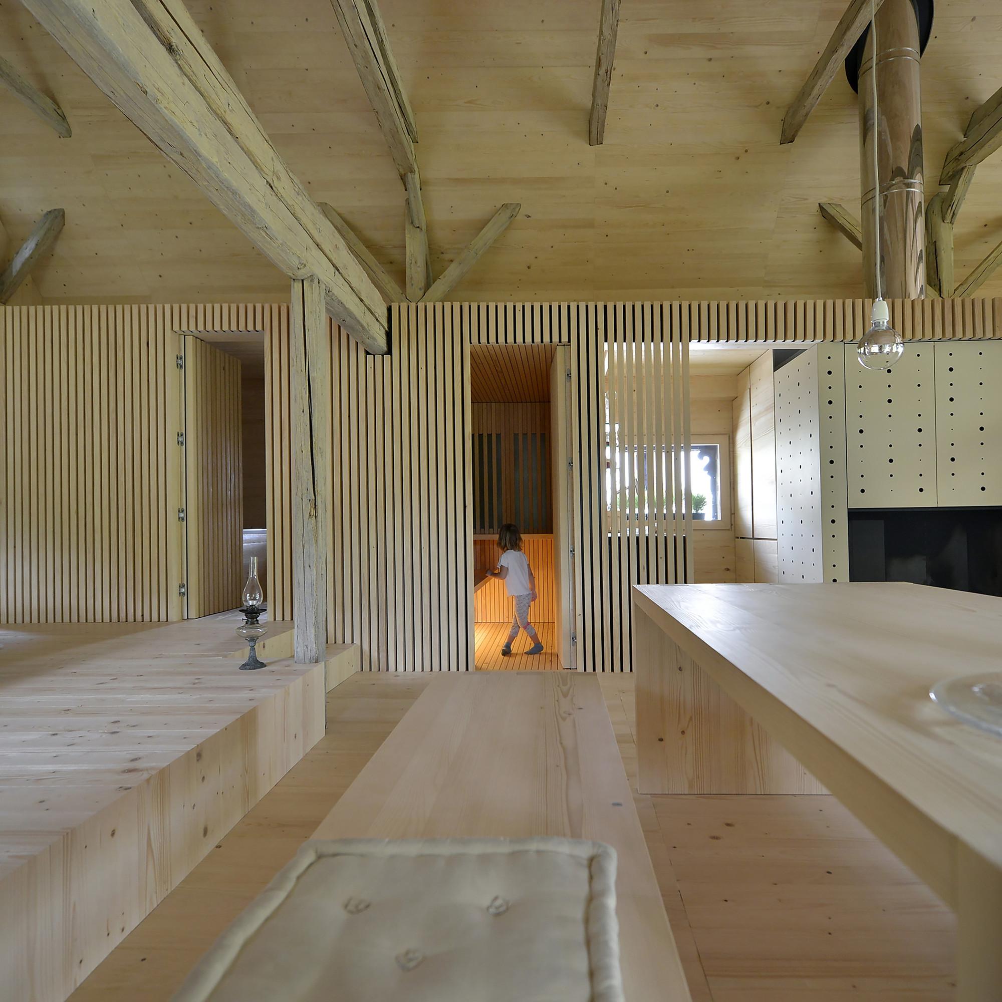 Gallery Of Alpine Barn Apartment Ofis Architects 33