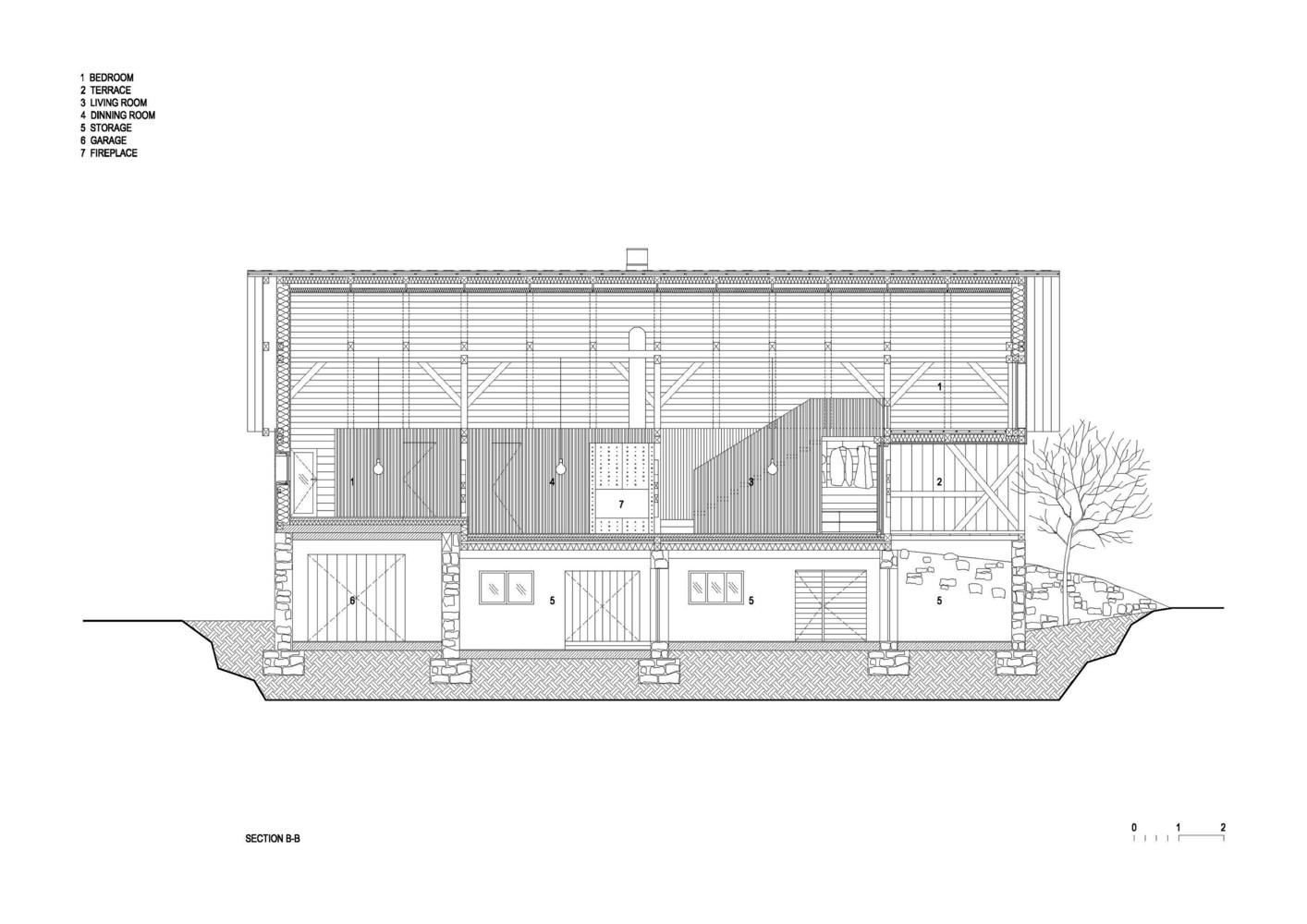 Gallery of Alpine Barn Apartment / OFIS Architects - 44