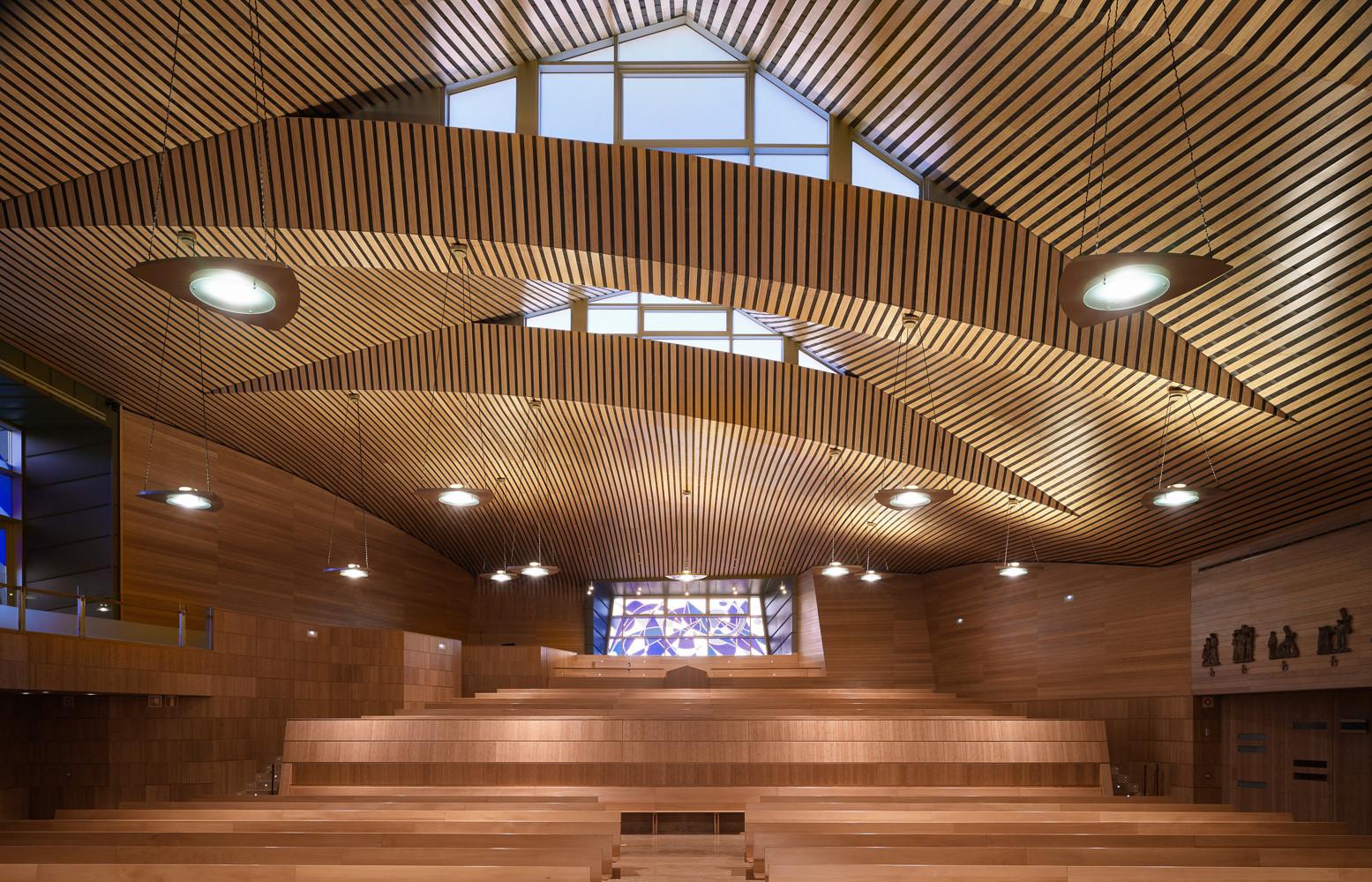 Oratory And Auditorium Retamar School Artytech2 Archdaily