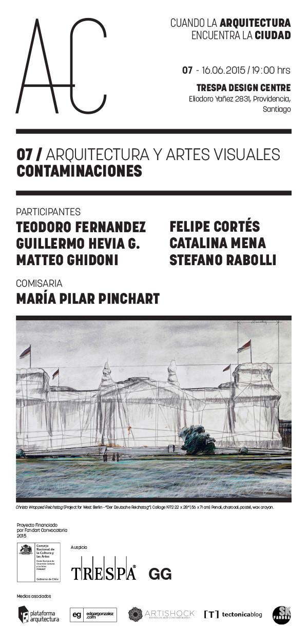 Arquitectura y Artes Visuales: séptima sesión de 'Cuando la Arquitectura Encuentra la Ciudad' / Santiago