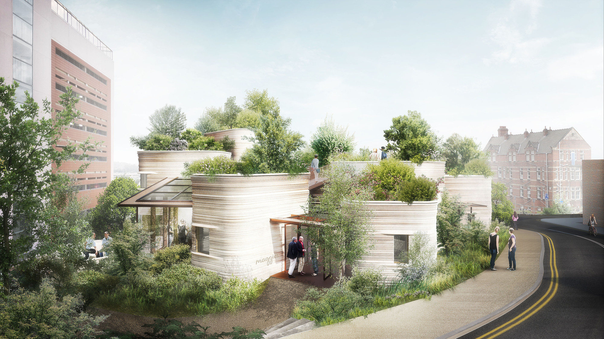 Thomas Heatherwick Unveils Design for Maggie's Centre in Leeds, © Heatherwick Studio
