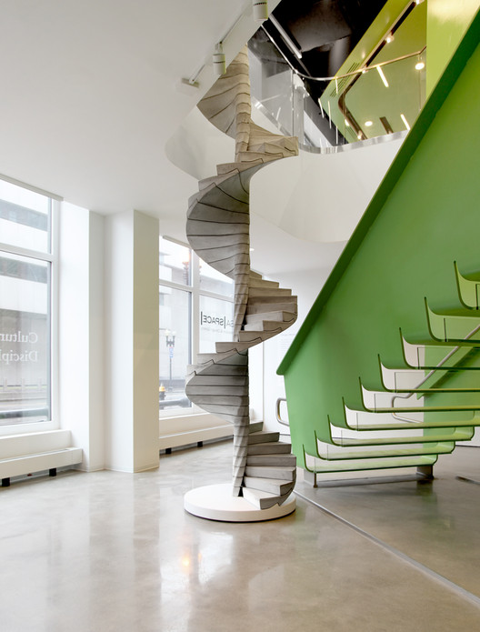 "Matter Design's ""Helix"" Stair Takes Concrete to the Next Level, Courtesy of Matter Design"