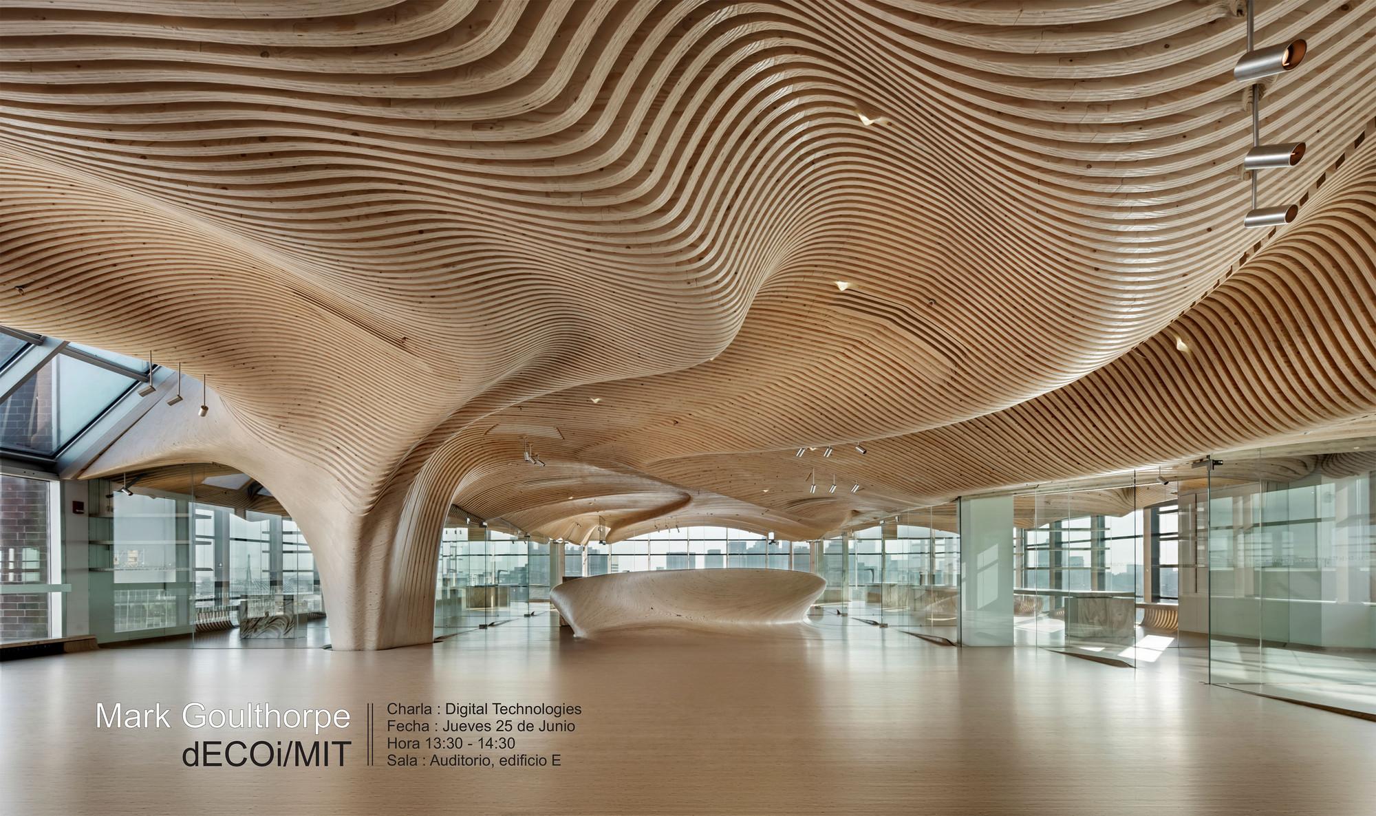 Conferencia de Mark Goulthorpe [dECOi/MIT]: Design Technologies / Santiago, Mark Goulthorpe