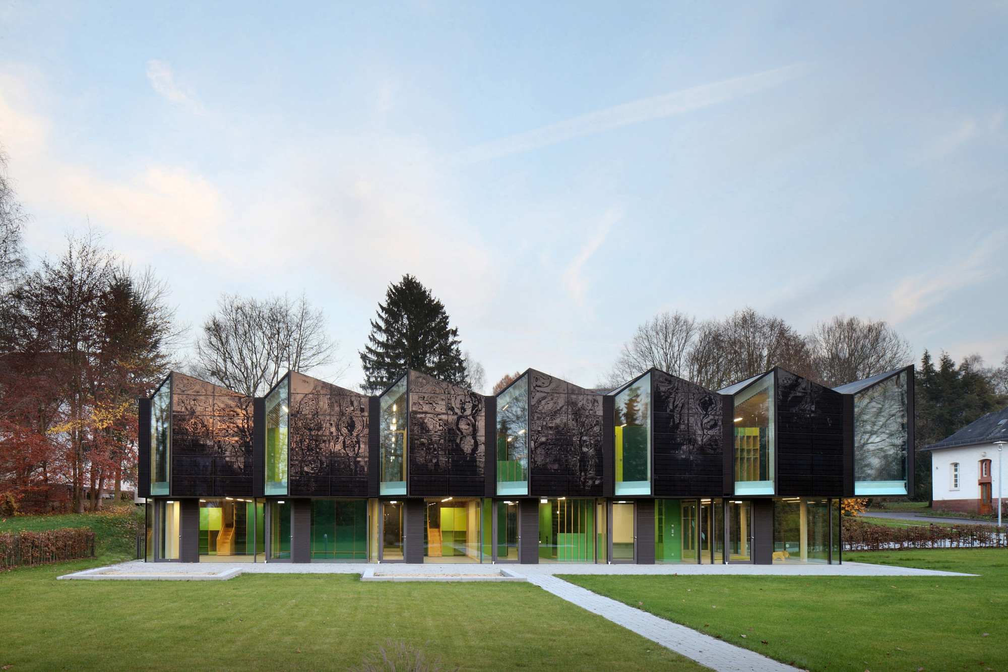 Architekt Marburg nursery +e in marburg / opus architekten | archdaily