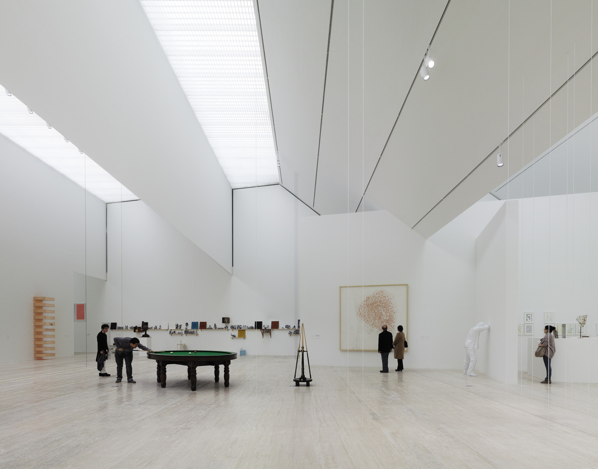 Gallery of museo jumex david chipperfield 2 for Arquitectura interior