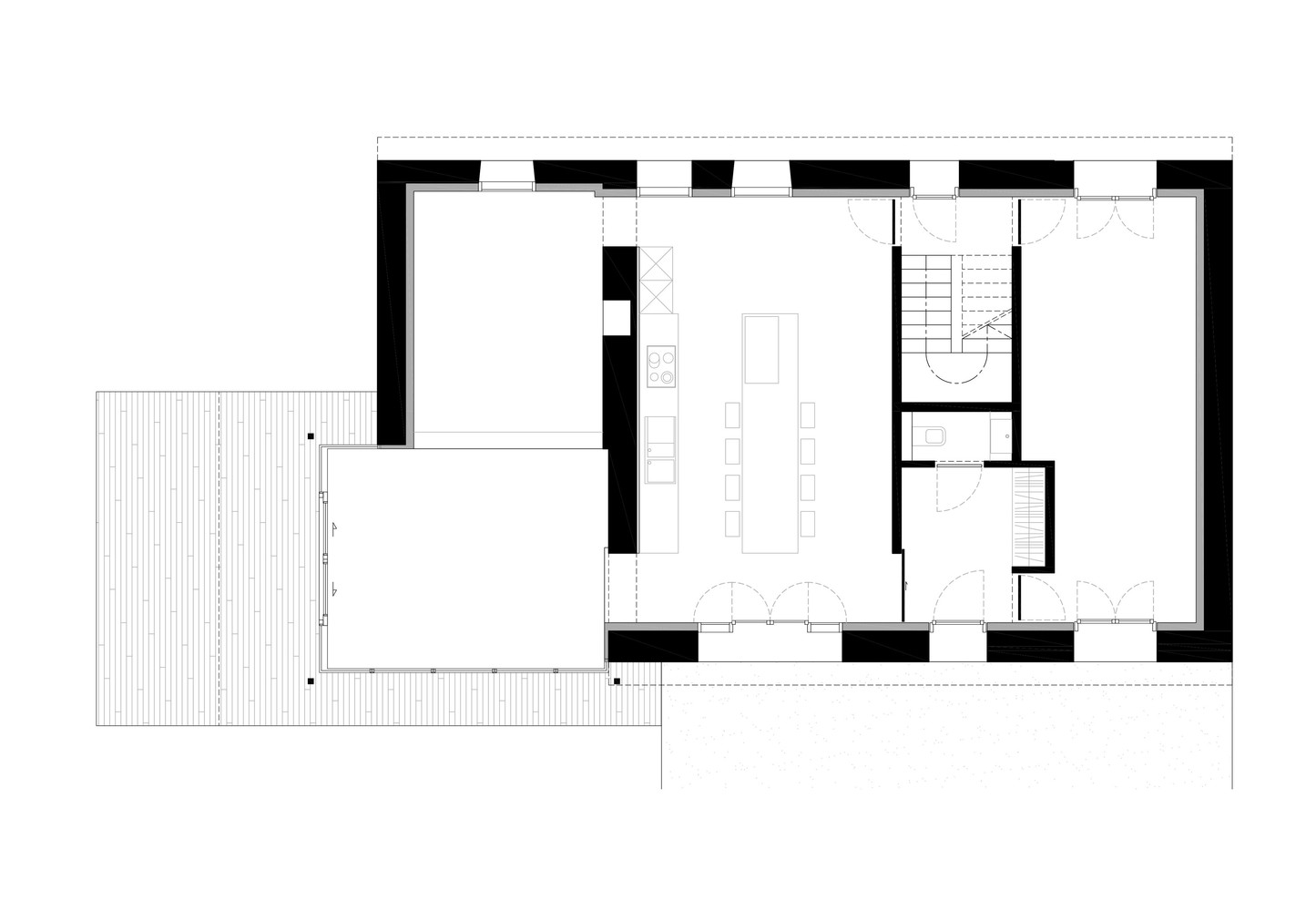 Gallery of Renovation Extension of a Holiday House Dehullu – Holiday House Floor Plans