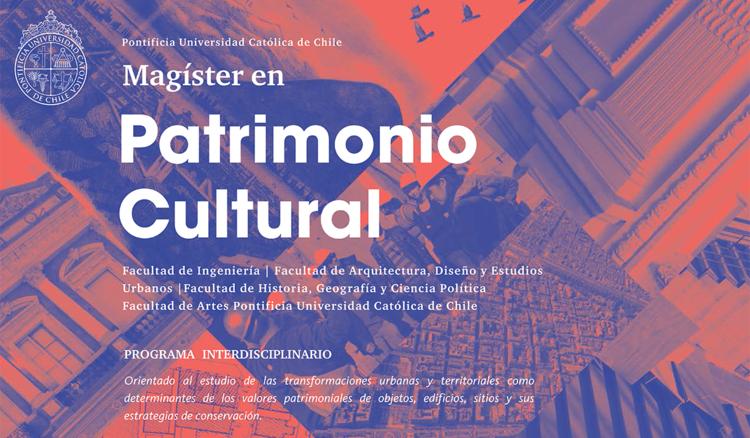 Magíster en Patrimonio Cultural UC / Programa Interdisciplinario, Cortesia de Programa Magíster en Patrimonio Cultural UC