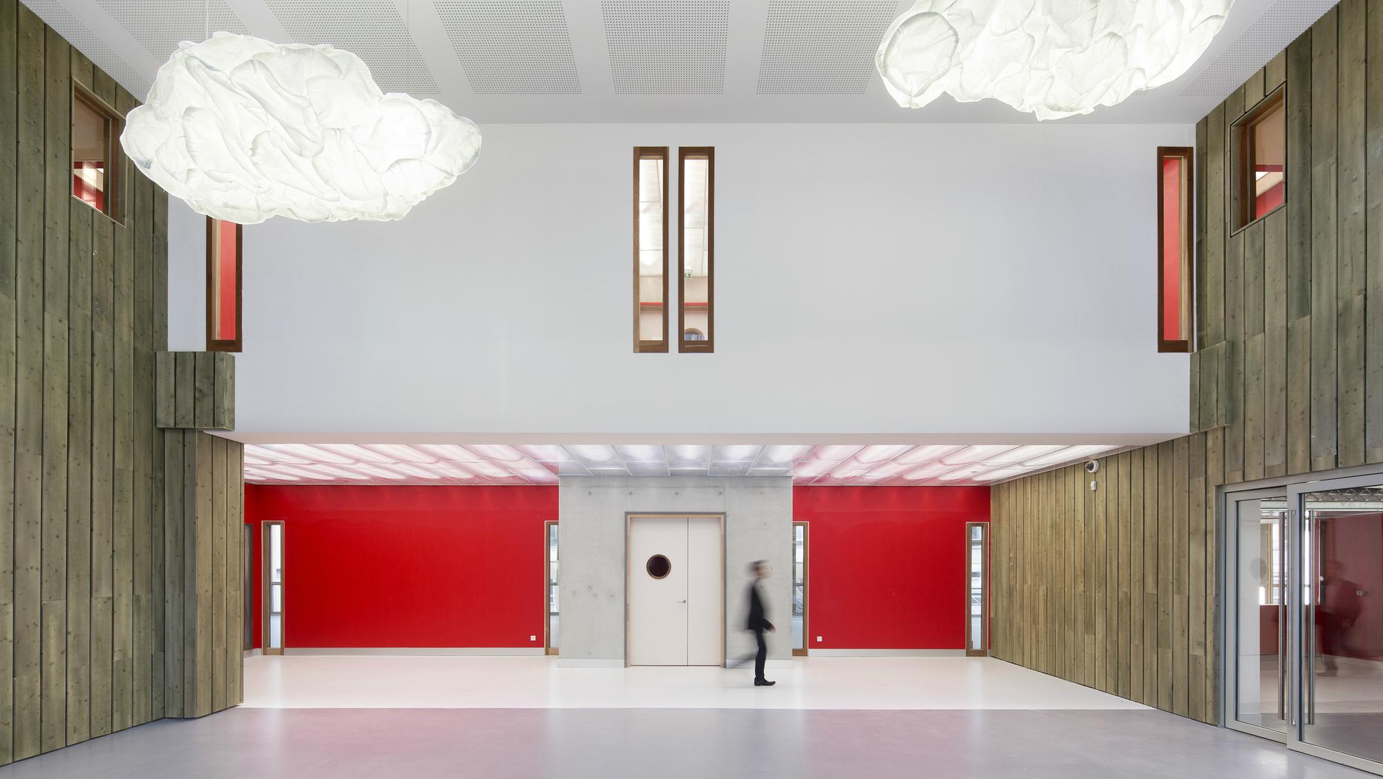 IGN Centro de geociencias y meteorología de Francia  / Architecture Patrick Mauger, © Michel Denancé