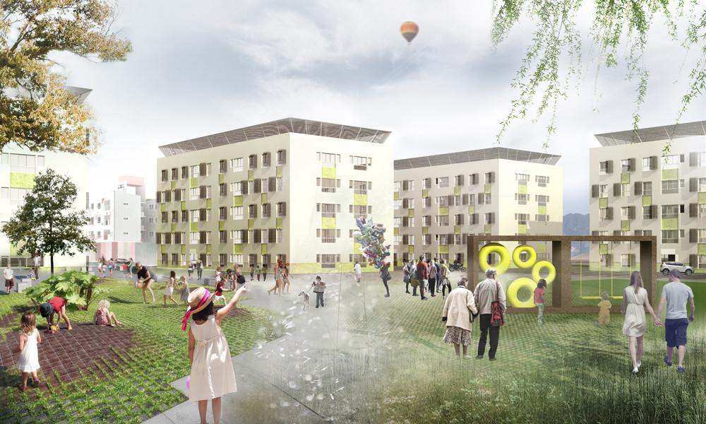 OOIIO diseñará 430 viviendas sociales en nuevo barrio sostenible de Brasil, Cortesia de OOIIO