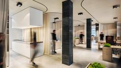 (un)curtain office / dekleva gregoric architects