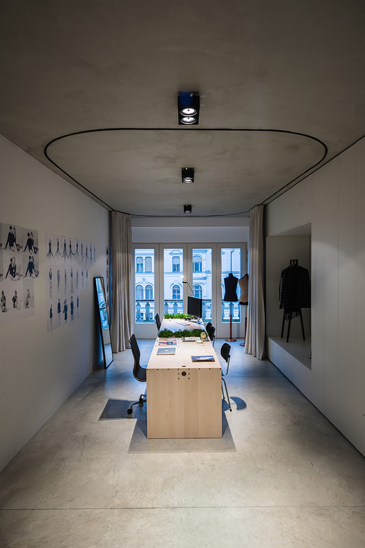 Un Curtain Office Dekleva Gregoric Architects ArchDaily