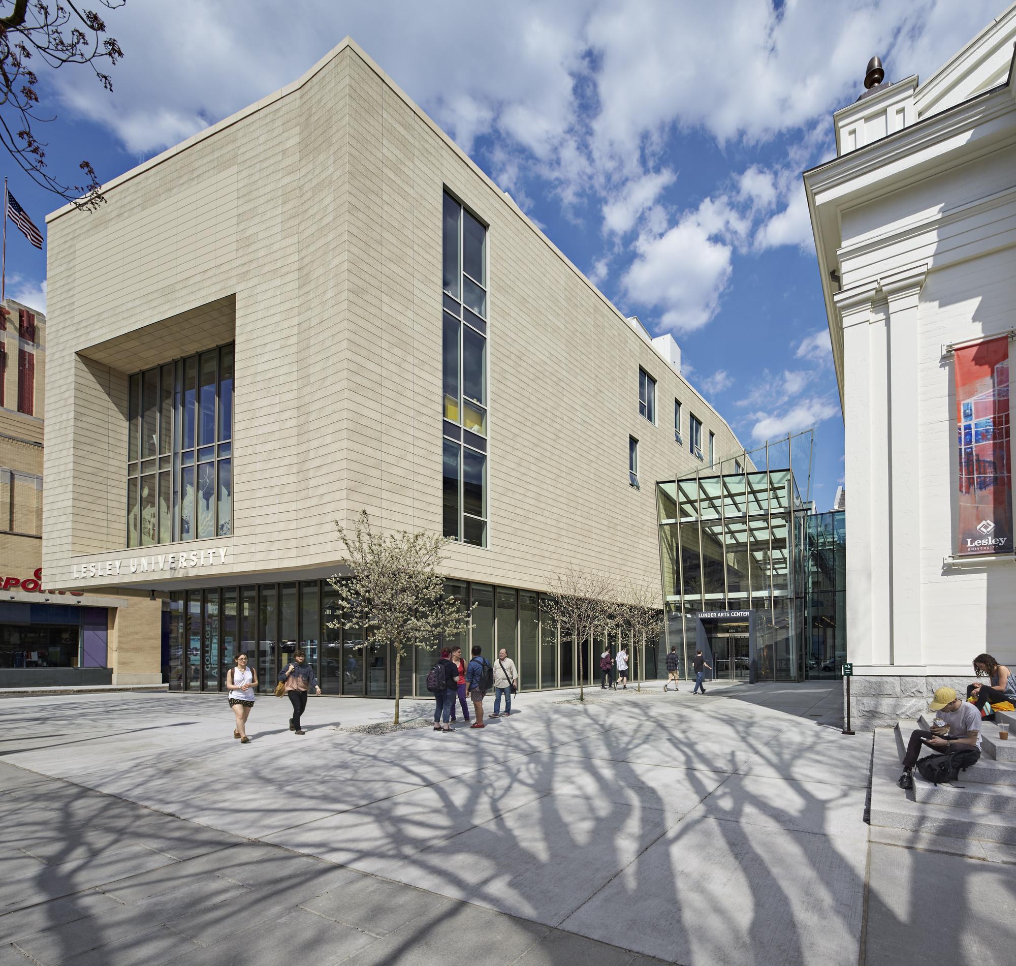 Lunder Arts Center Bruner Cott Amp Associates Archdaily