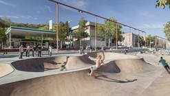 Skate Park Nou Barris / SCOB