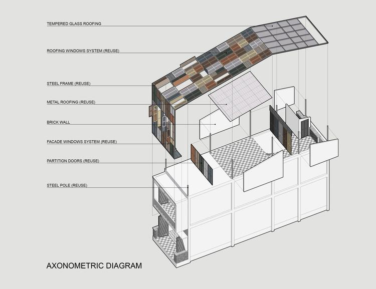 26 - Vegan House / Block Architects: Ấn tượng với những cửa sổ cũ