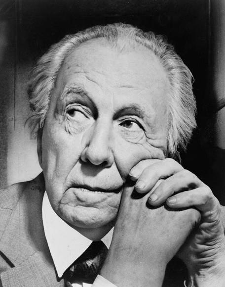 """Cine y Arquitectura: """"Frank Lloyd Wright - El arte de construir"""", Frank Lloyd Wright © Al Ravenna via Wikimedia"""