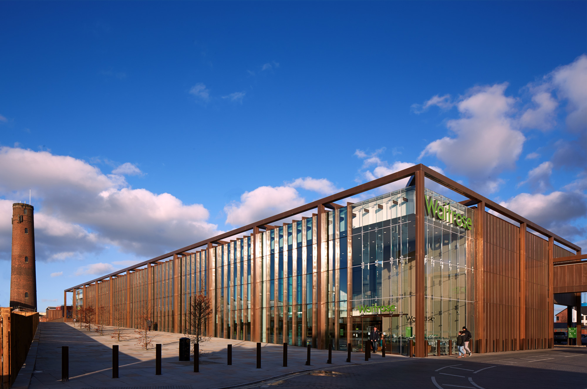 Waitrose chester broadway malyan archdaily - Architecture of a building ...